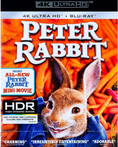 Зайчето Питър (4K UHD Blu-ray) - 1