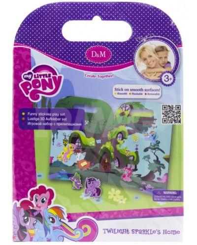 Активна игра със стикери Revontuli Toys Oy - Моето малко пони, Къщата на Спаркъл - 1