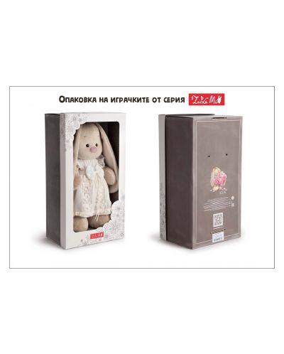 Плюшена играчка Budi Basa - Зайка Ми, с коледна рокля, 32 cm - 3