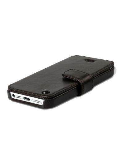 Zenus Prestige Estime Diary за iPhone 5 -  тъмнокафяв - 4