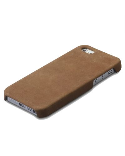 Zenus Prestige Vintage Leather Bar за iPhone 5 -  кафяв - 5