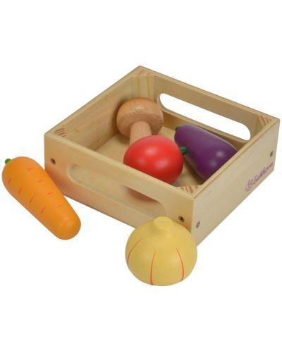 Дървена кутия със зеленчуци Eichhorn - 1