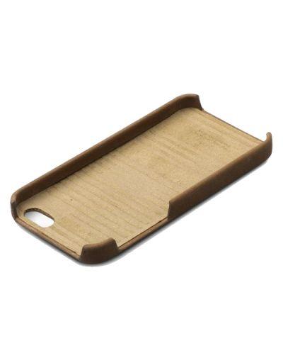 Zenus Prestige Vintage Leather Bar за iPhone 5 -  кафяв - 2