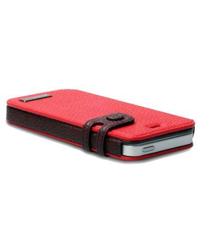 Zenus Masstige Color Edge Diary за iPhone 5 -  червен - 4
