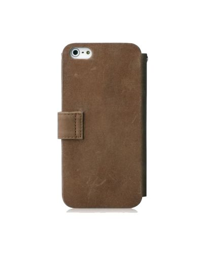 Zenus Prestige Vintage Leather Diary за iPhone 5 - 2