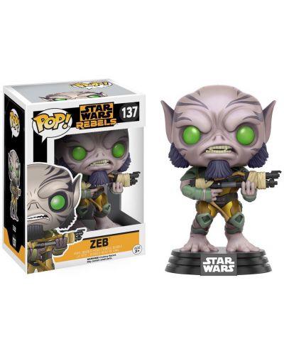 Фигура Funko Pop! Star Wars Rebels: Zeb, #137 - 2