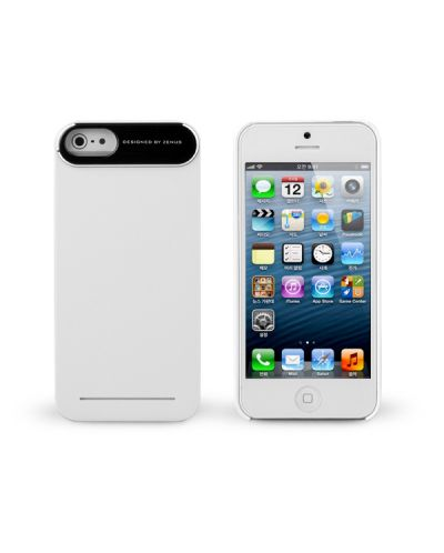Zenus Metal Edge за iPhone 5 -  бял - 1