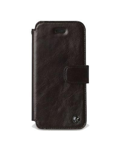 Zenus Prestige Estime Diary за iPhone 5 -  тъмнокафяв - 1