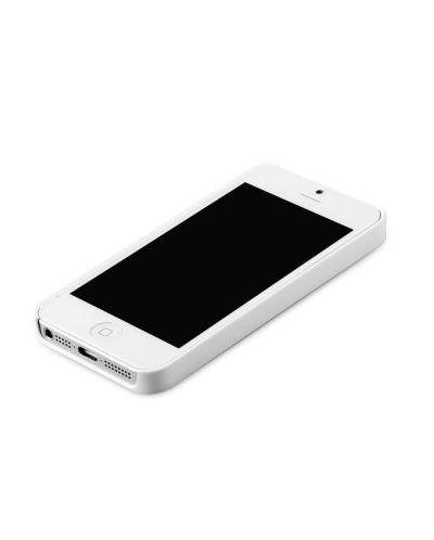 Zenus Metal Edge за iPhone 5 -  бял - 2