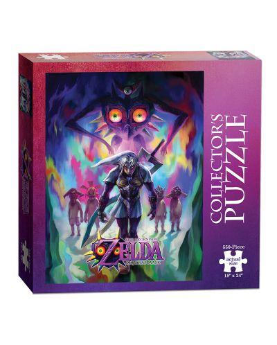 Колекционерски пъзел USAopoly, The Legend of Zelda – Majora's mask incarnation, 550 части - 2