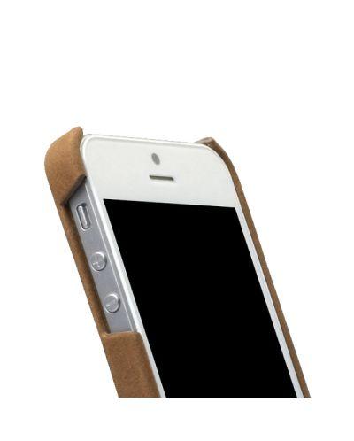Zenus Prestige Vintage Leather Bar за iPhone 5 -  кафяв - 3
