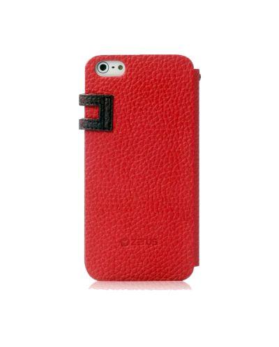 Zenus Masstige Color Edge Diary за iPhone 5 -  червен - 2