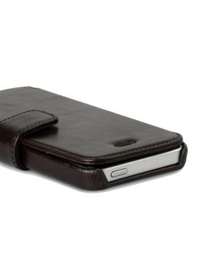 Zenus Prestige Estime Diary за iPhone 5 -  тъмнокафяв - 3