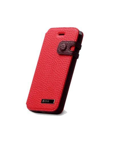 Zenus Masstige Color Edge Diary за iPhone 5 -  червен - 3