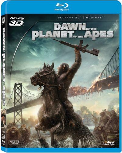 Зората на Планетата на маймуните 3D (Blu-Ray) - 3