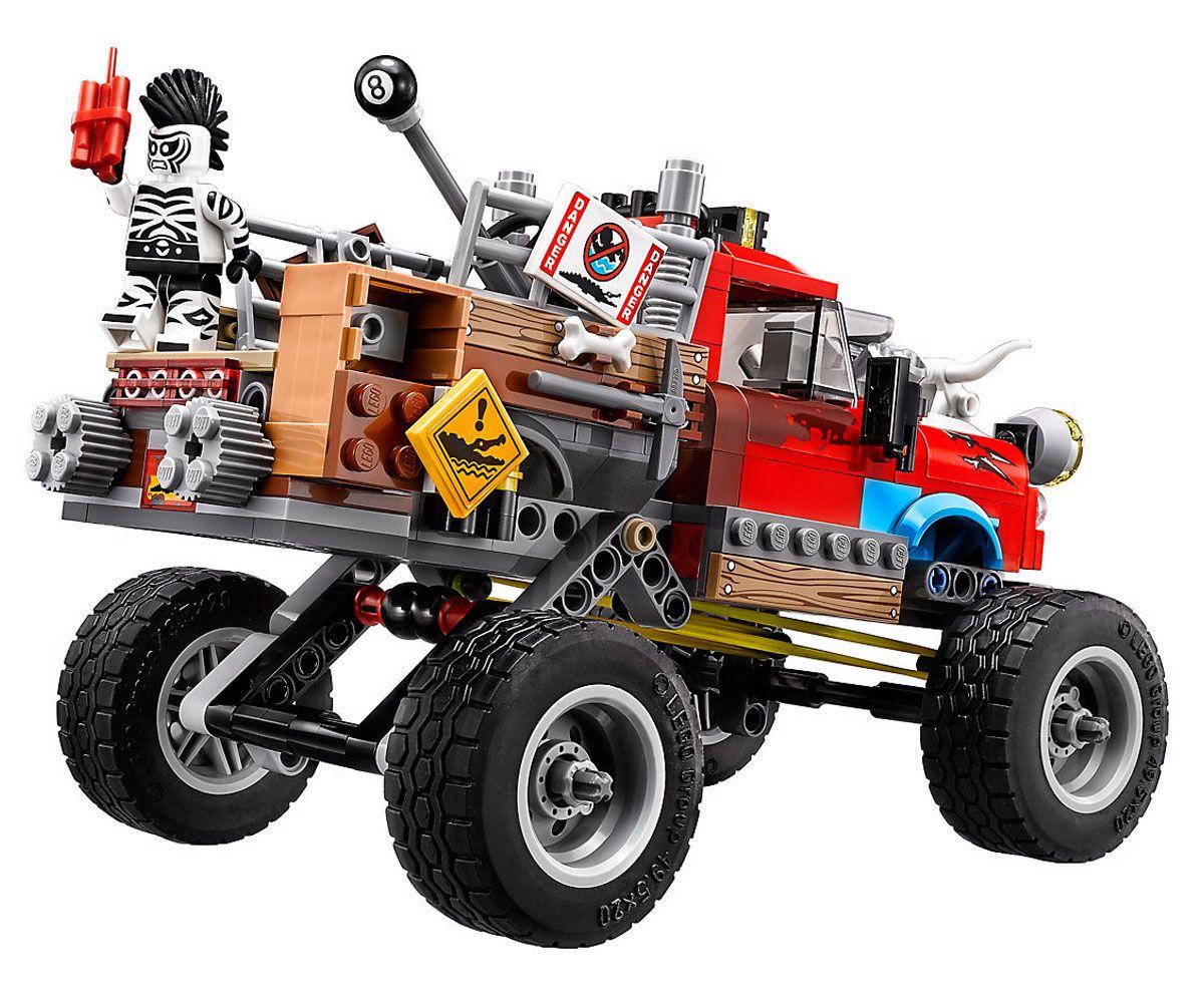 Конструктор Lego Batman Movie - Килър Крок, Oпашата кола (70907) - 6