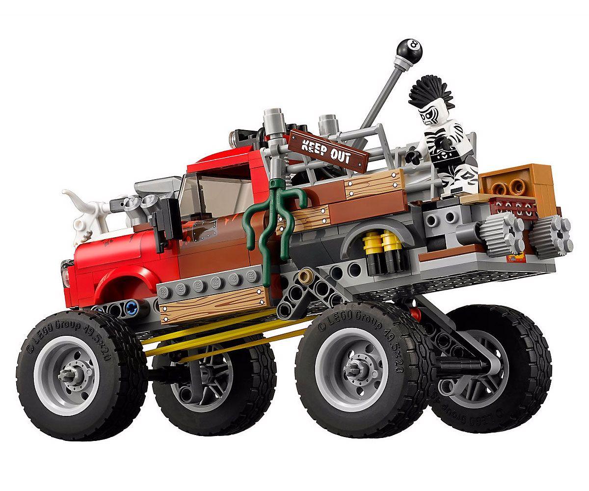 Конструктор Lego Batman Movie - Килър Крок, Oпашата кола (70907) - 5