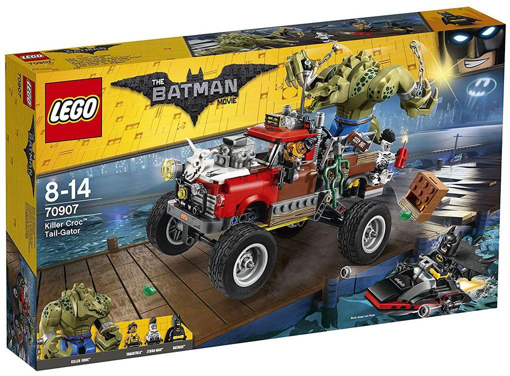 Конструктор Lego Batman Movie - Килър Крок, Oпашата кола (70907) - 1