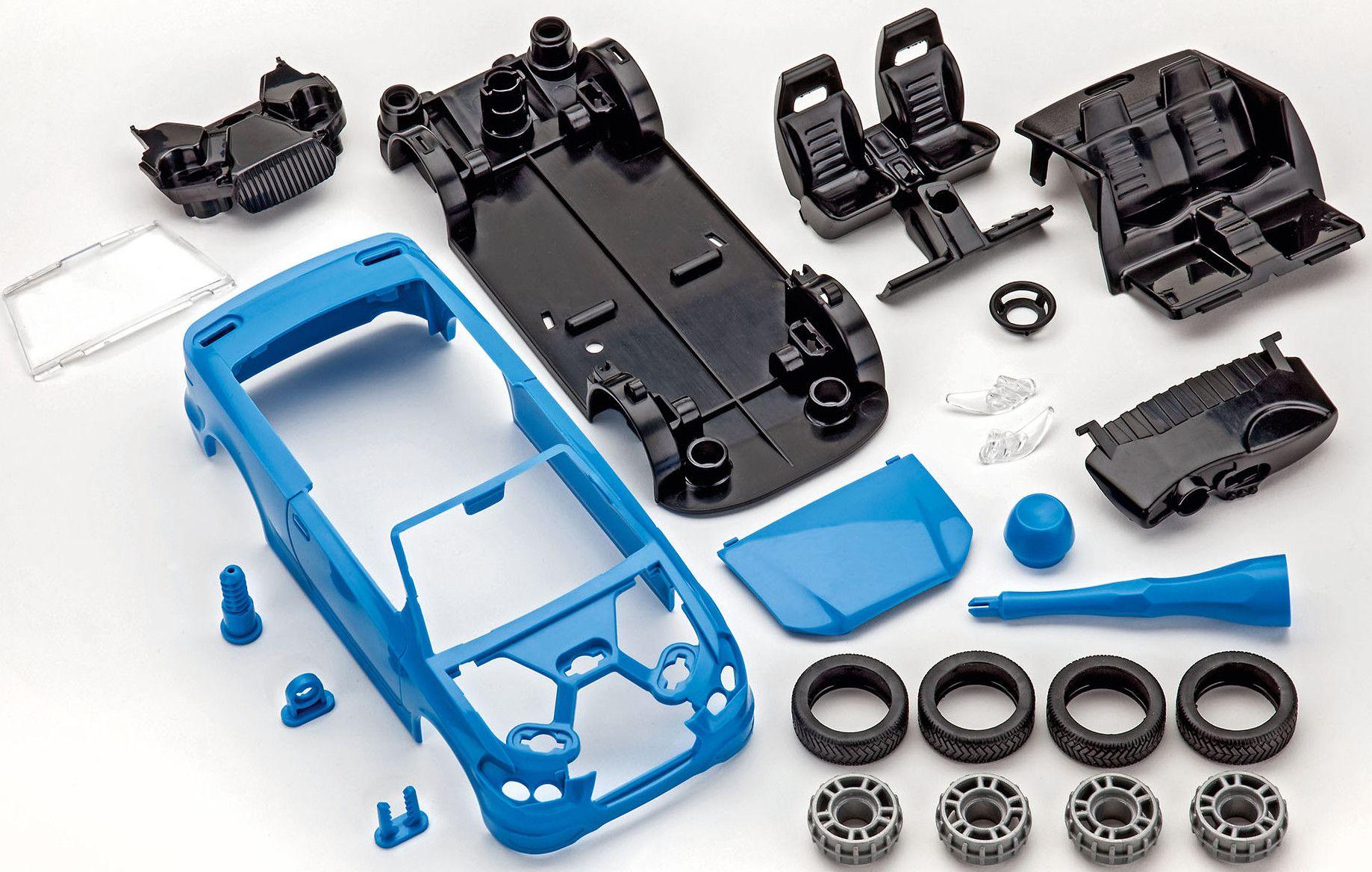 Сглобяем модел на състезателен автомобил Revell - Roadster  (00801) - 5