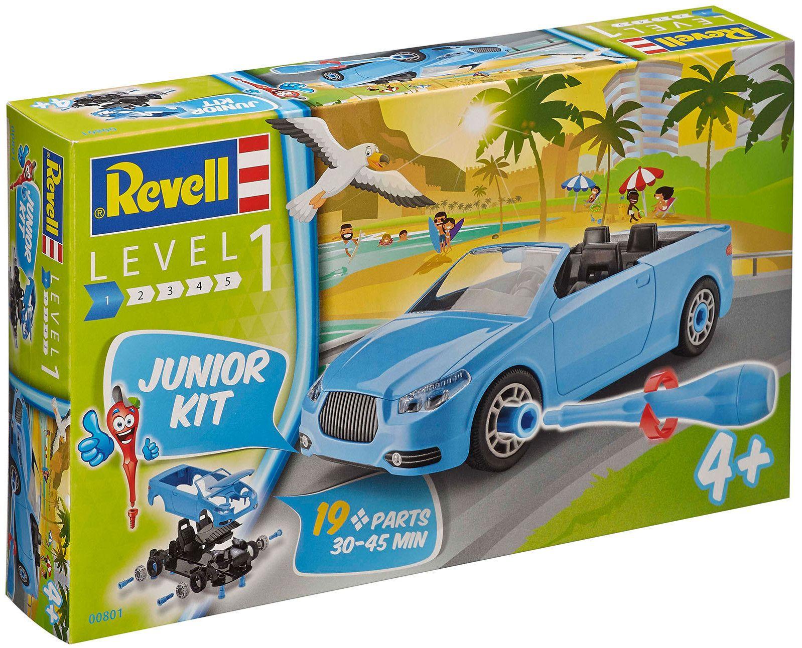 Сглобяем модел на състезателен автомобил Revell - Roadster  (00801) - 4