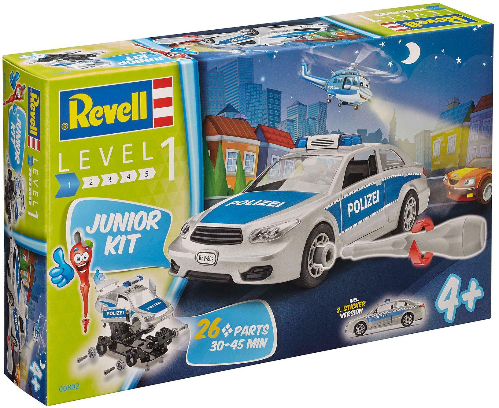 Сглобяем модел на полицейски автомобил Revell (00802) - 4