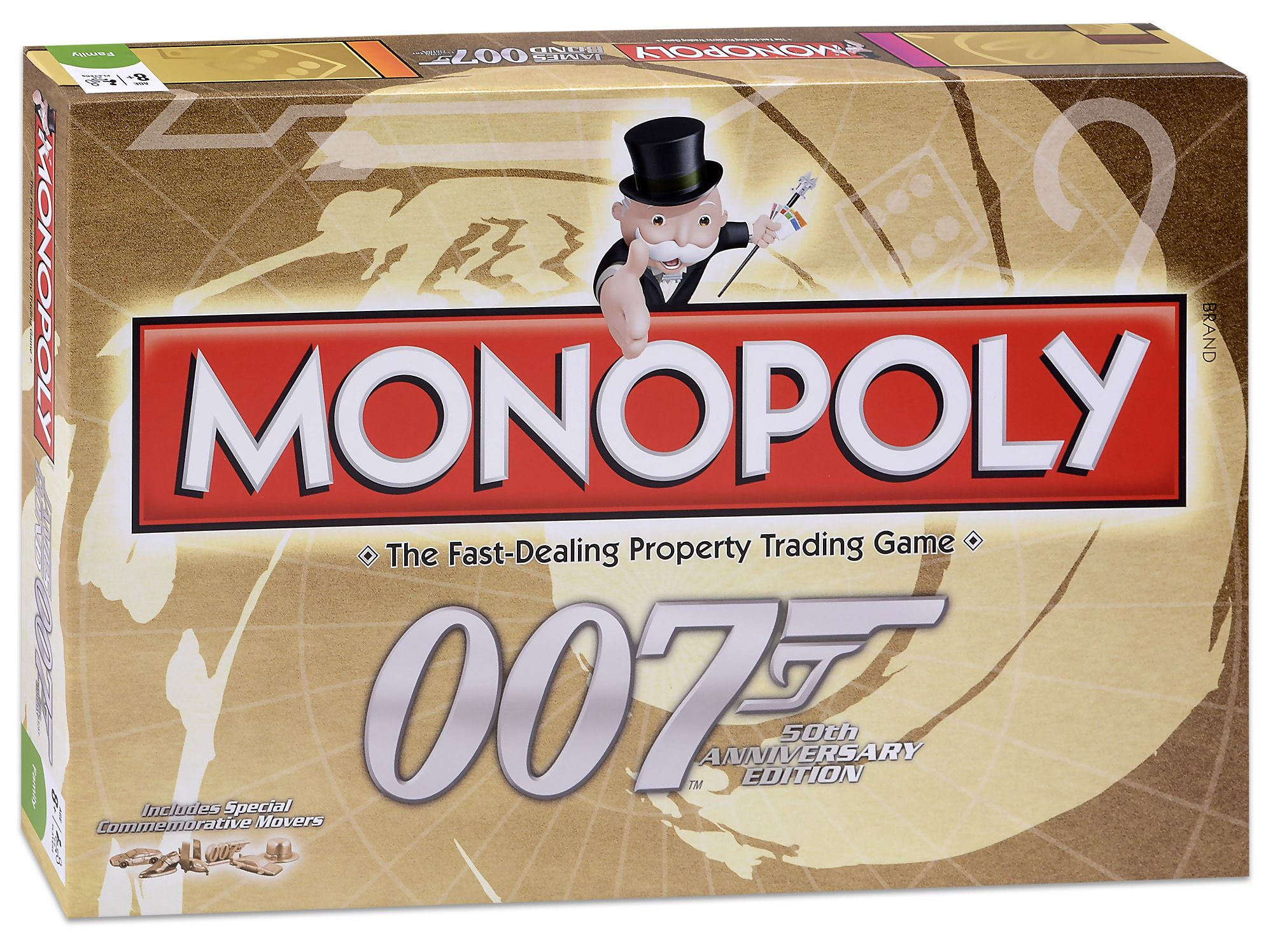Настолна игра Monopoly - 007 Bond 50th Anniversary Edition - 1