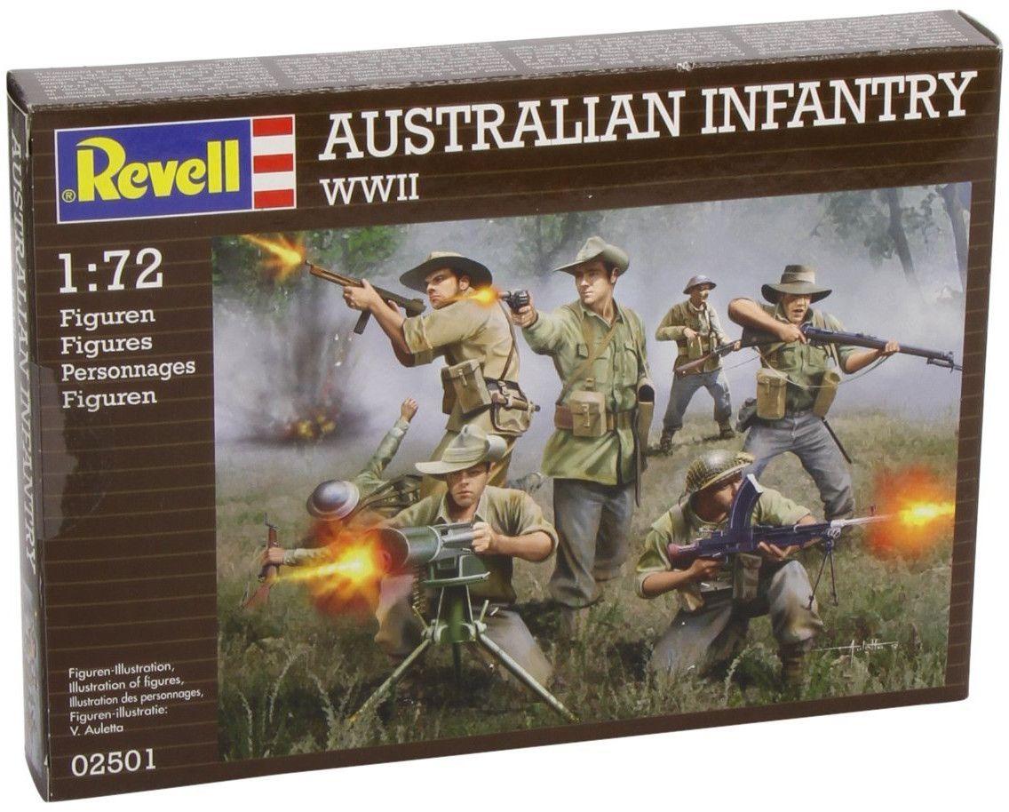 Фигури Revell - Australian Infantry WWII (02501) - 1