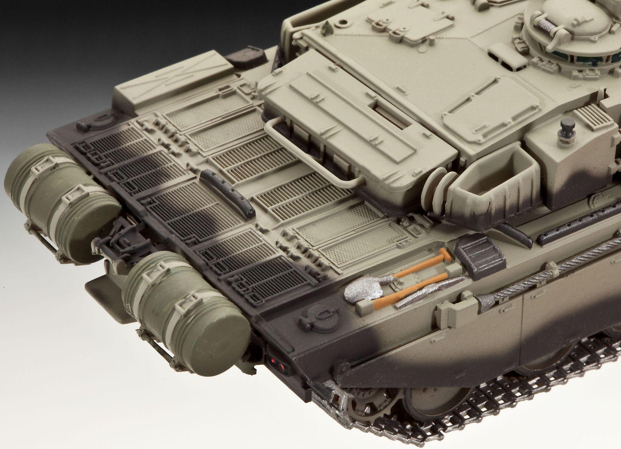 Сглобяем модел на танк Revell - British Main Battle Tank CHALLENGER I (03183) - 4