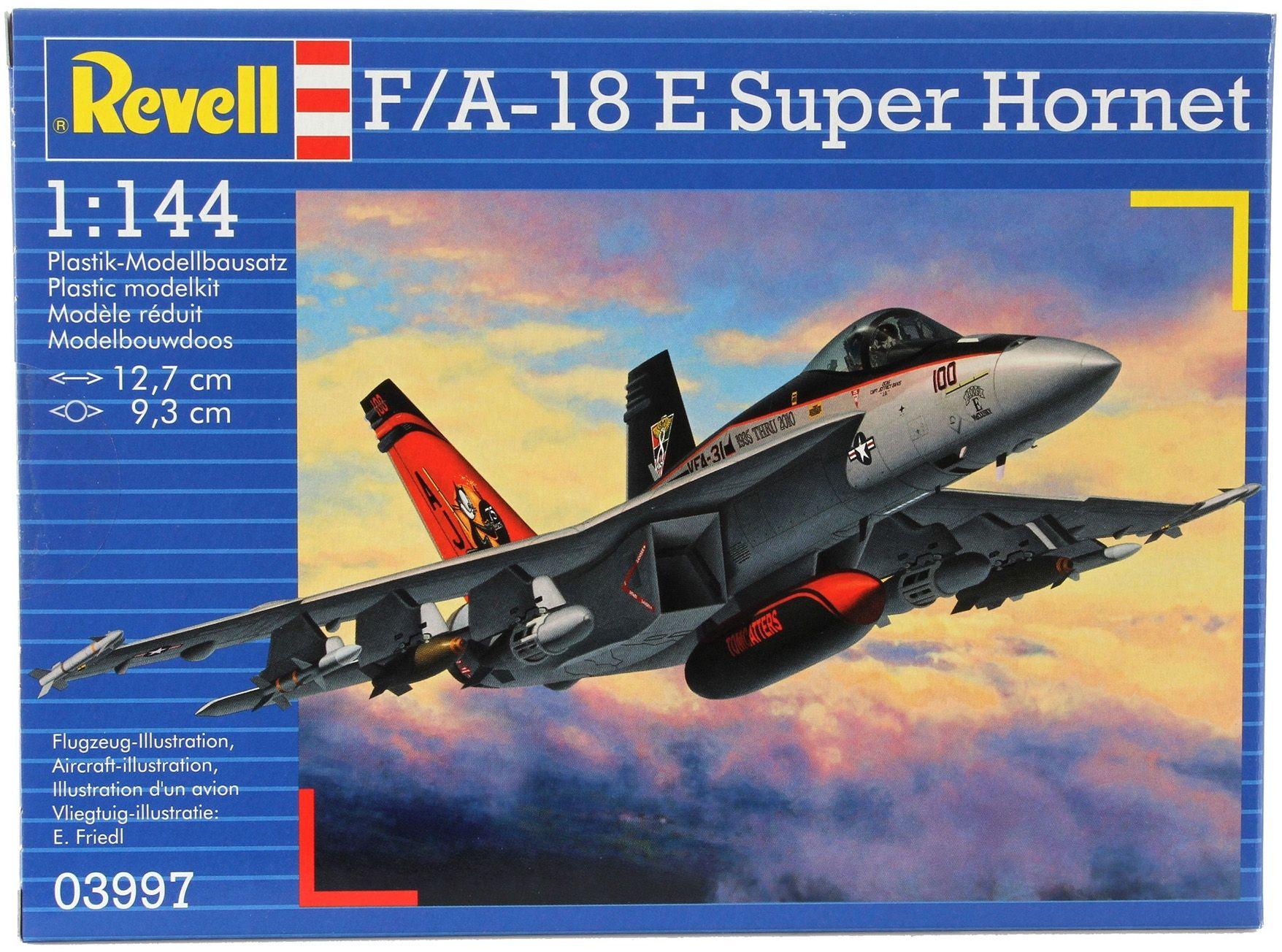 Сглобяем модел на изтребител Revell - F/A-18E Super Hornet (03997) - 3