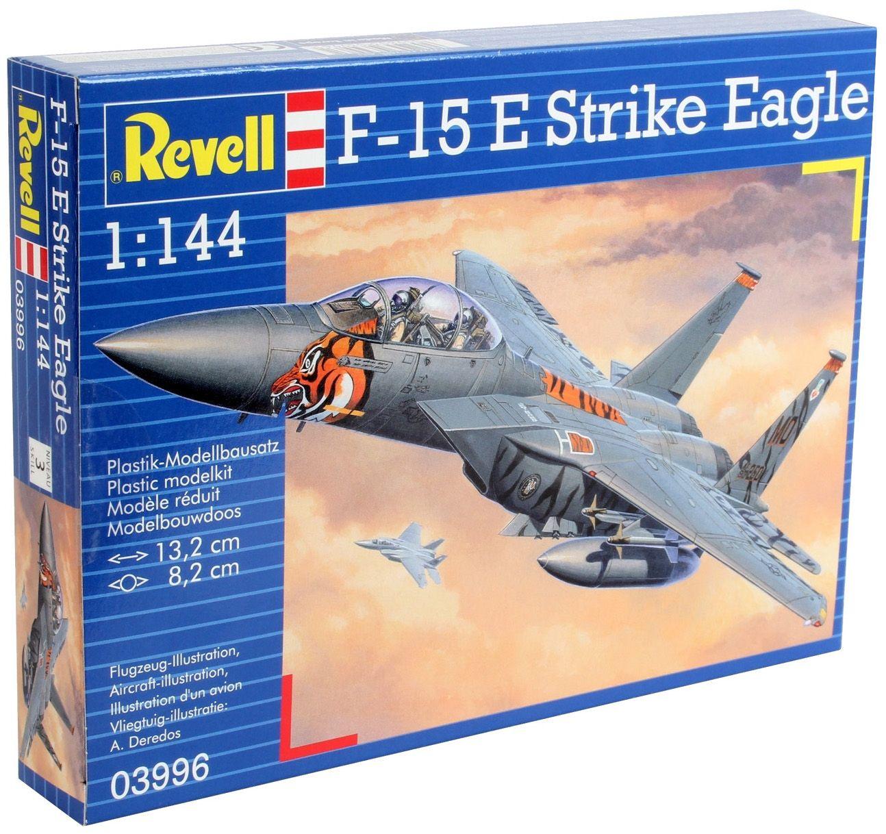 Сглобяем модел на изтребител Revell - F-15E Strike Eagle (03996) - 3