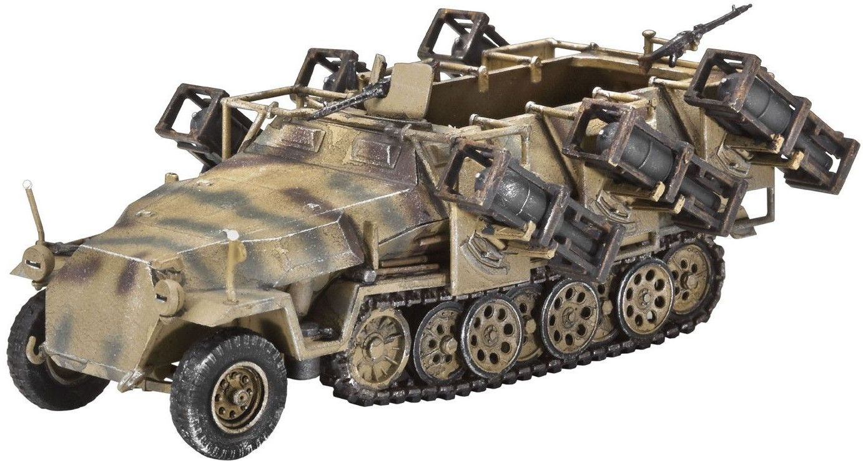 Сглобяем модел на бронетранспортьор Revell - Sd.Kfz 251/1 Ausf.C w/Lauchframe 40 (3173) - 1