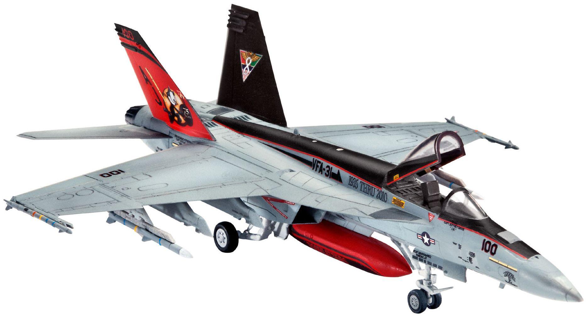 Сглобяем модел на изтребител Revell - F/A-18E Super Hornet (03997) - 1