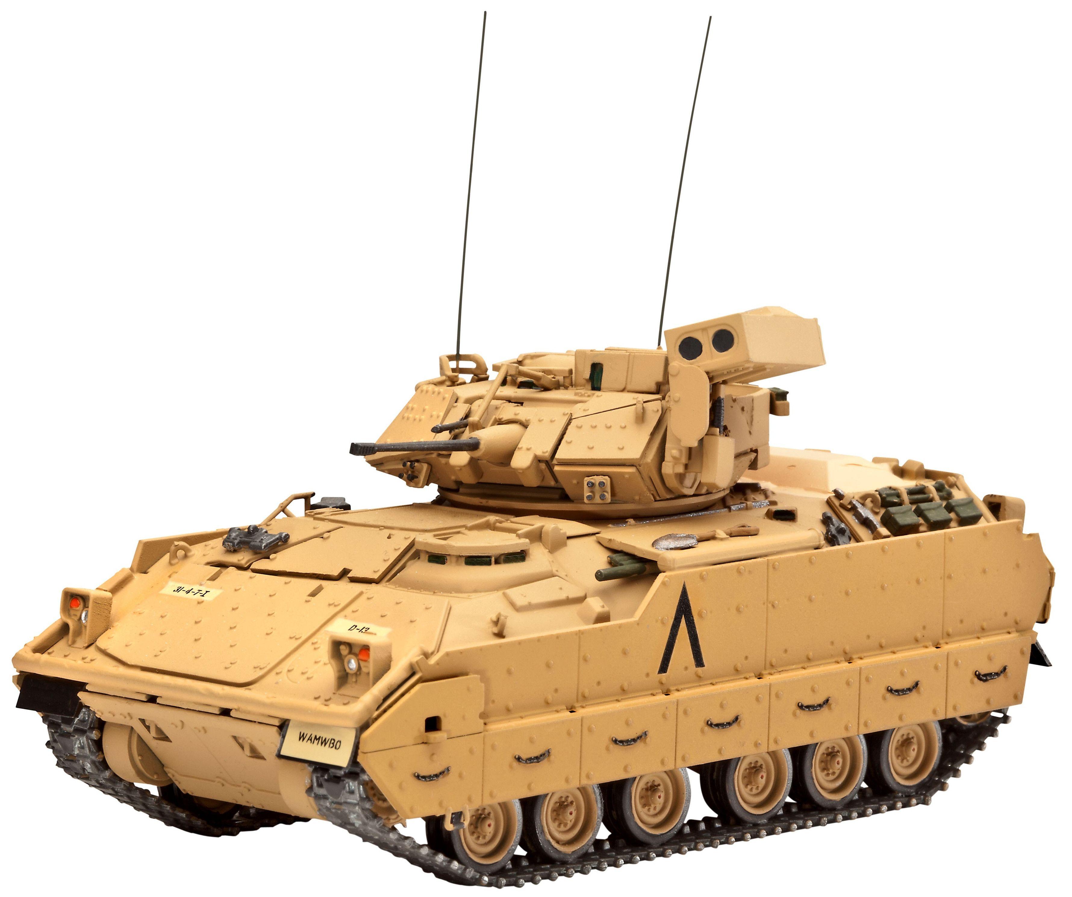 Сглобяем модел на танк Revell - M2 A2 Bradley (03185) - 1