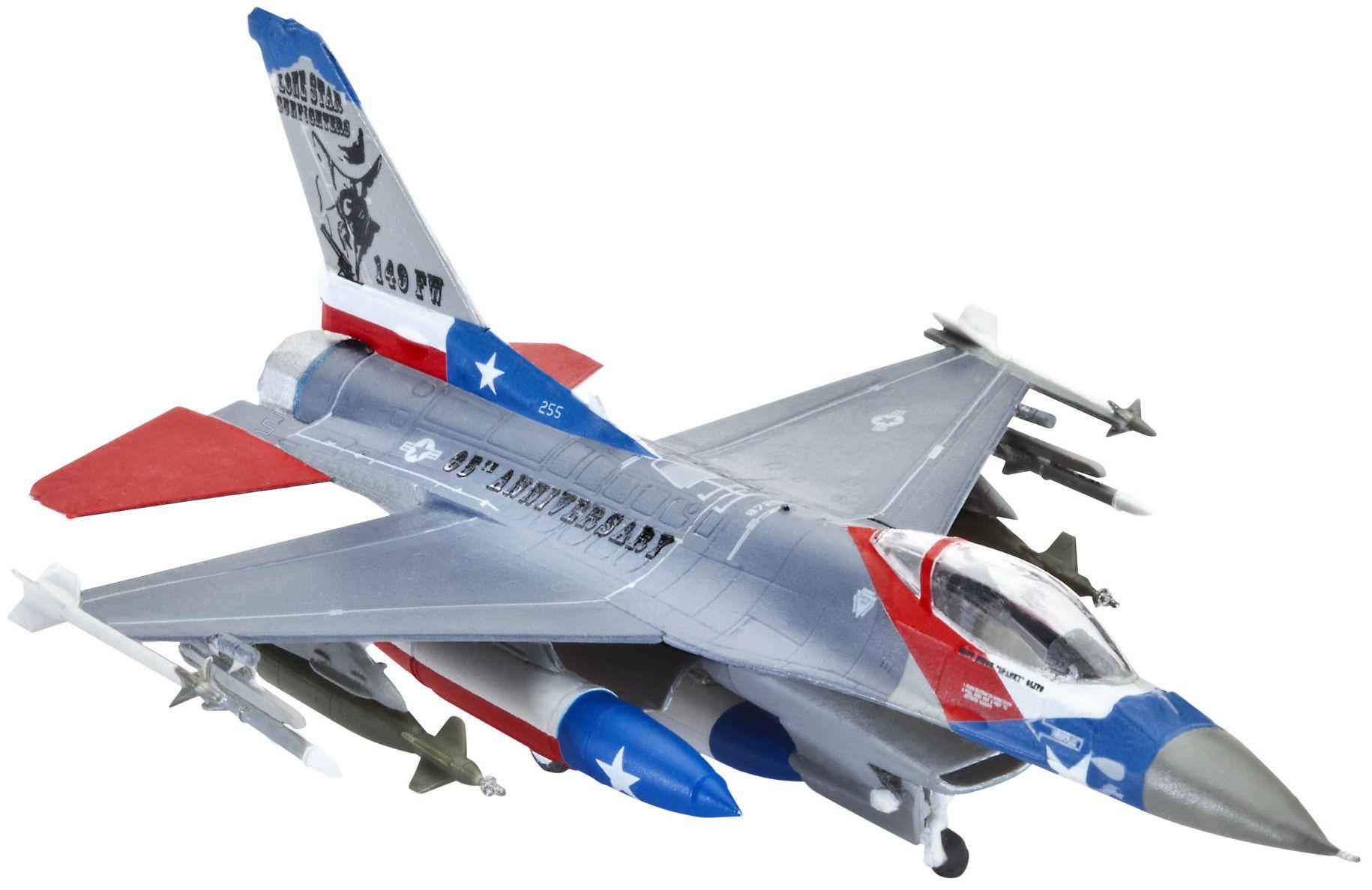 Сглобяем модел на изтребител Revell Lockheed - Martin F-16C Fighting Falcon (03992) - 1