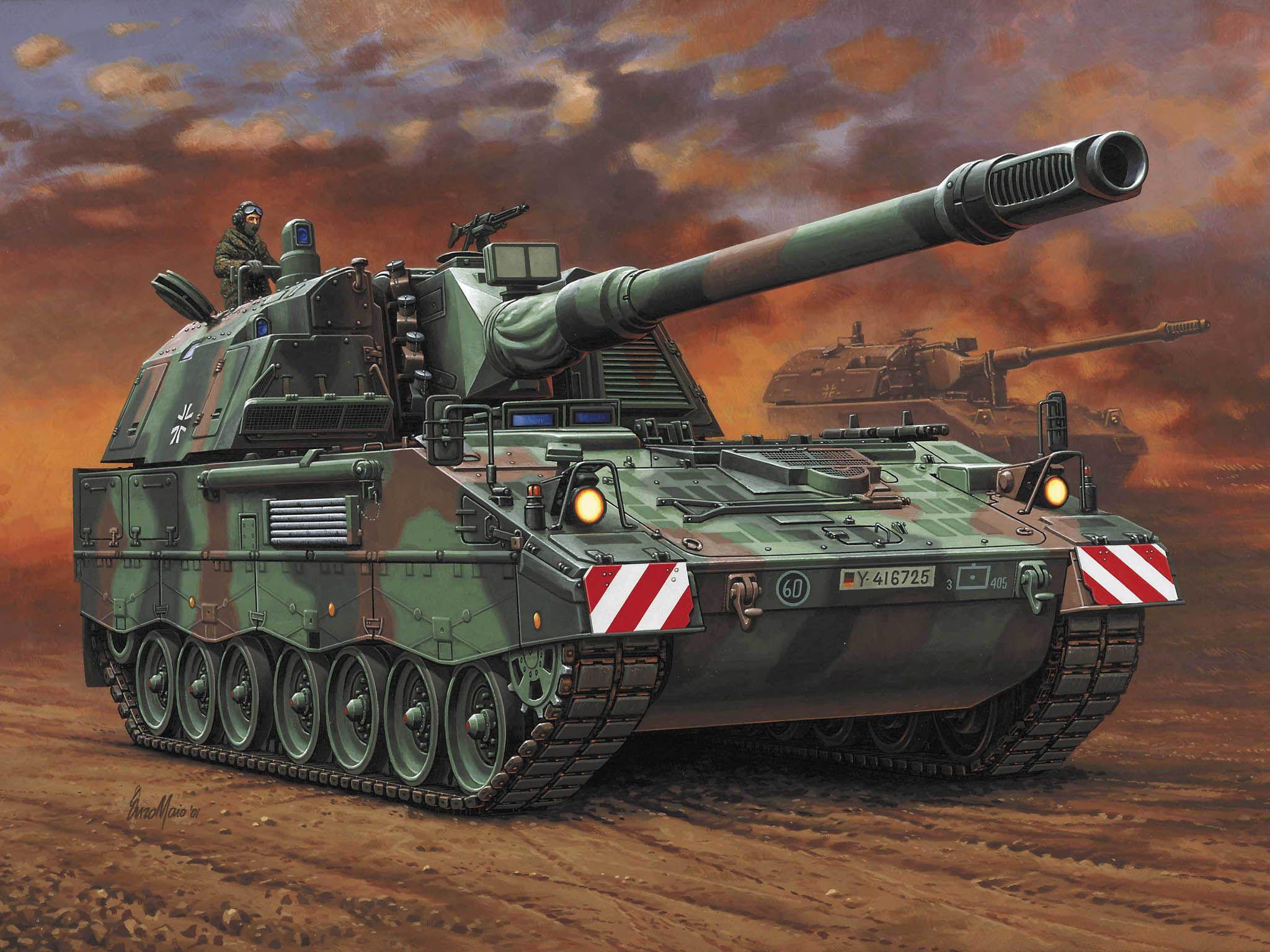 Сглобяем модел на танк Revell - Panzerhaubitze PzH 2000 (03121) - 2