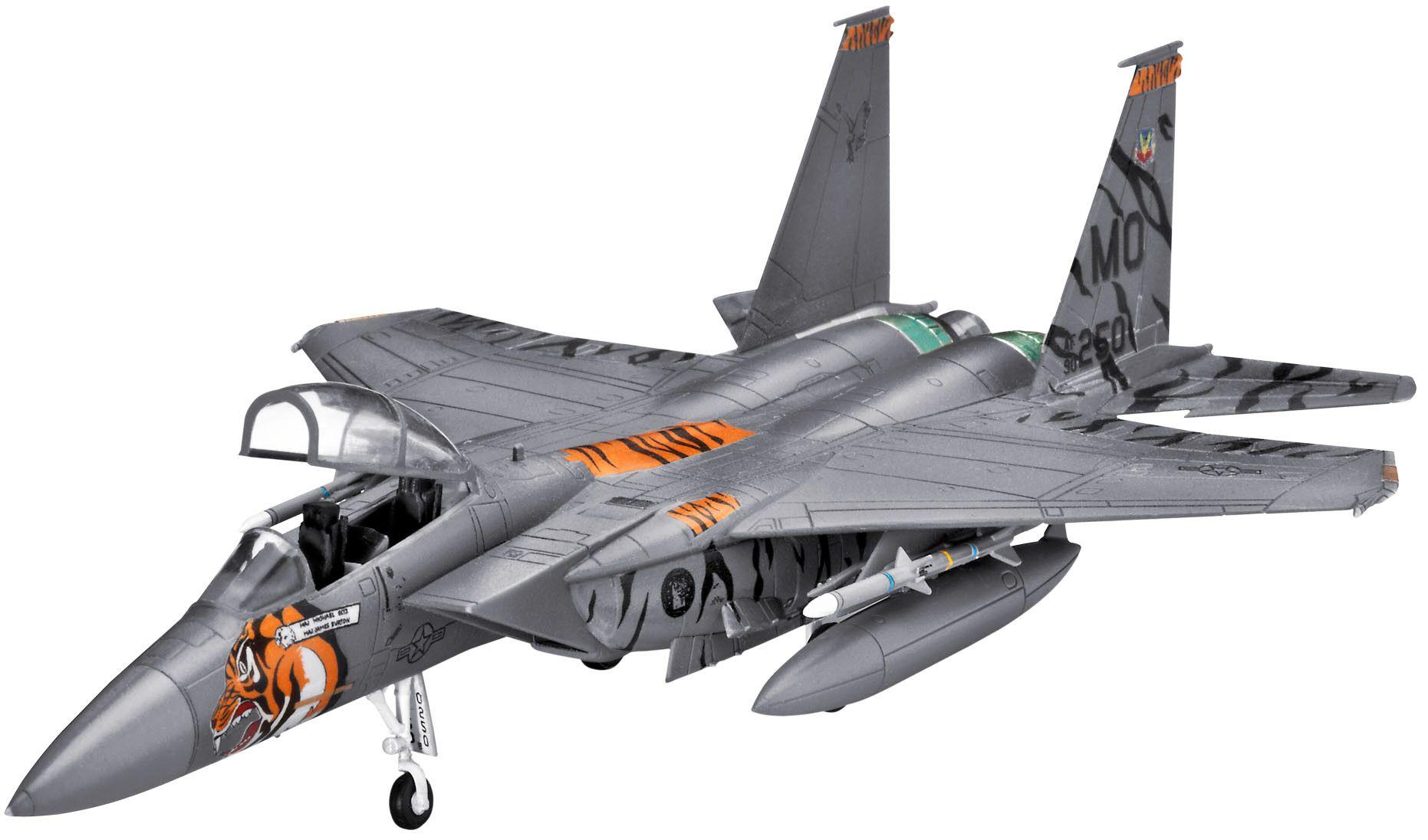 Сглобяем модел на изтребител Revell - F-15E Strike Eagle (03996) - 1