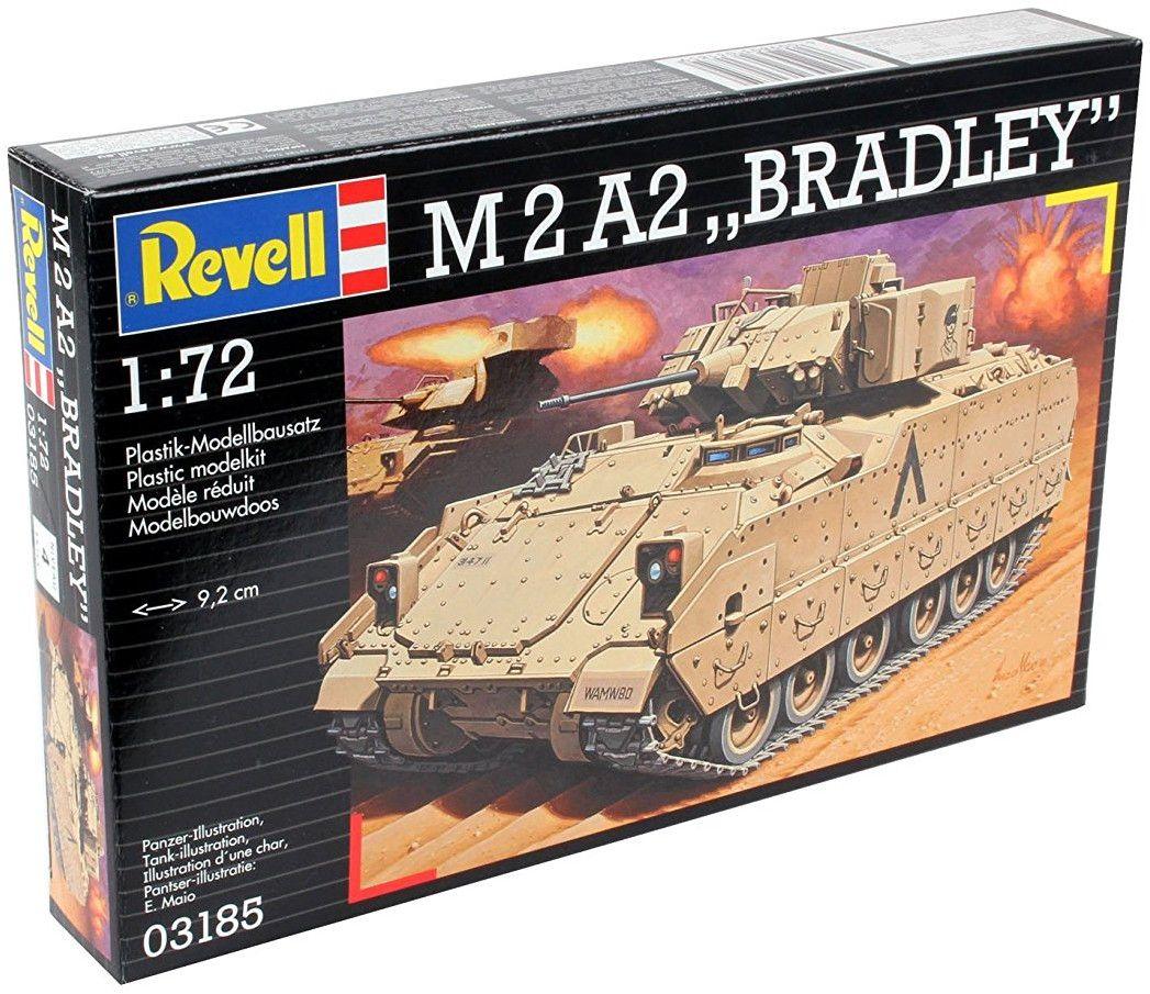 Сглобяем модел на танк Revell - M2 A2 Bradley (03185) - 2