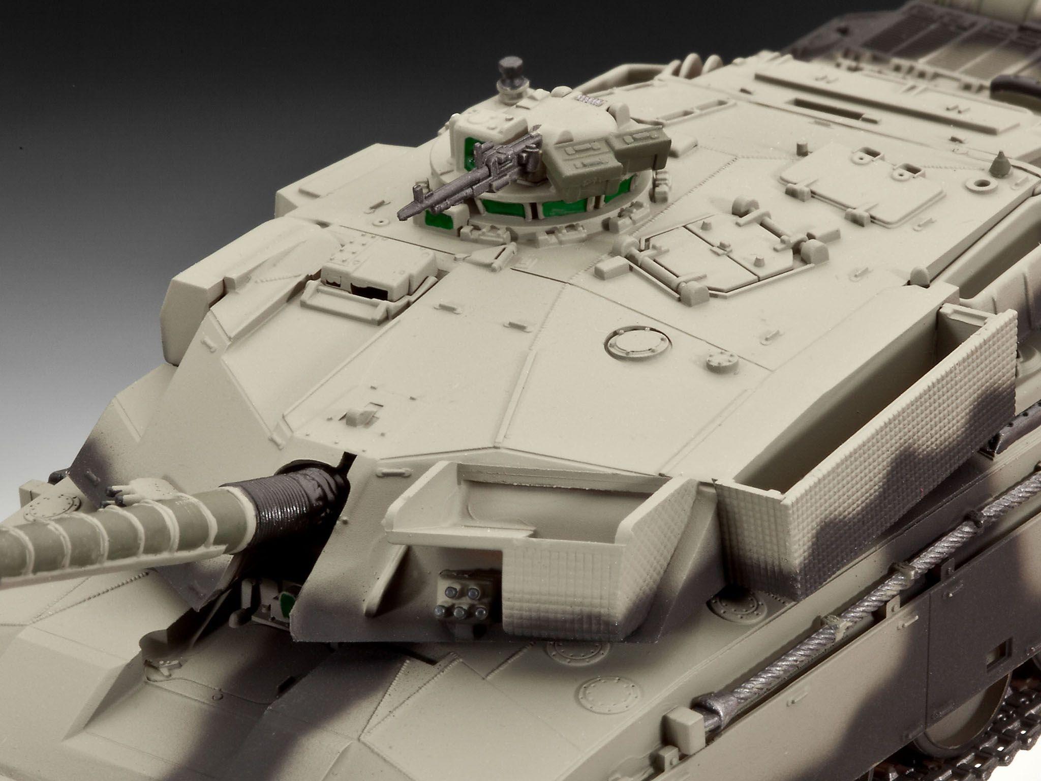 Сглобяем модел на танк Revell - British Main Battle Tank CHALLENGER I (03183) - 3