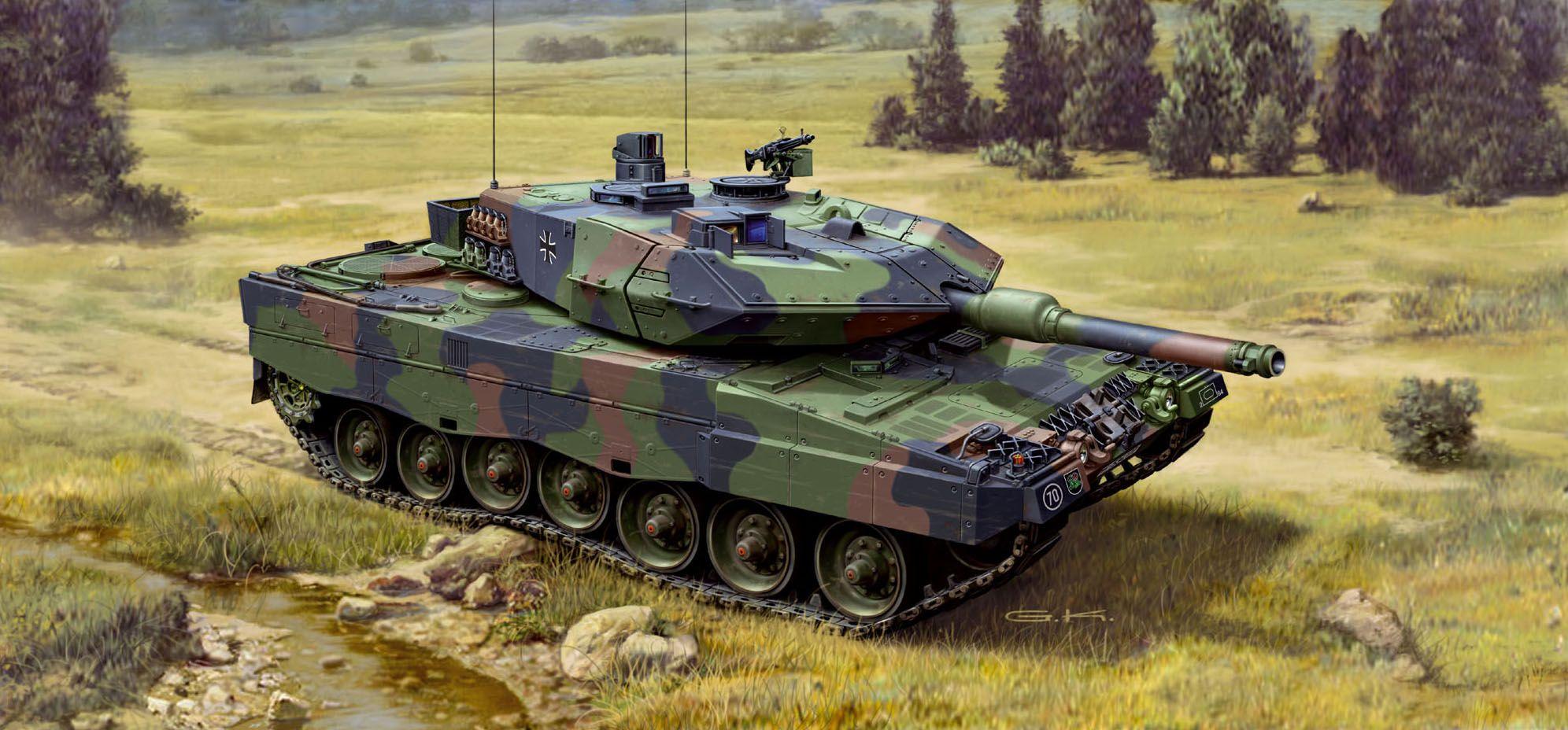 Сглобяем модел на танк Revell - LEOPARD 2 A5 / A5 NL (03187) - 2