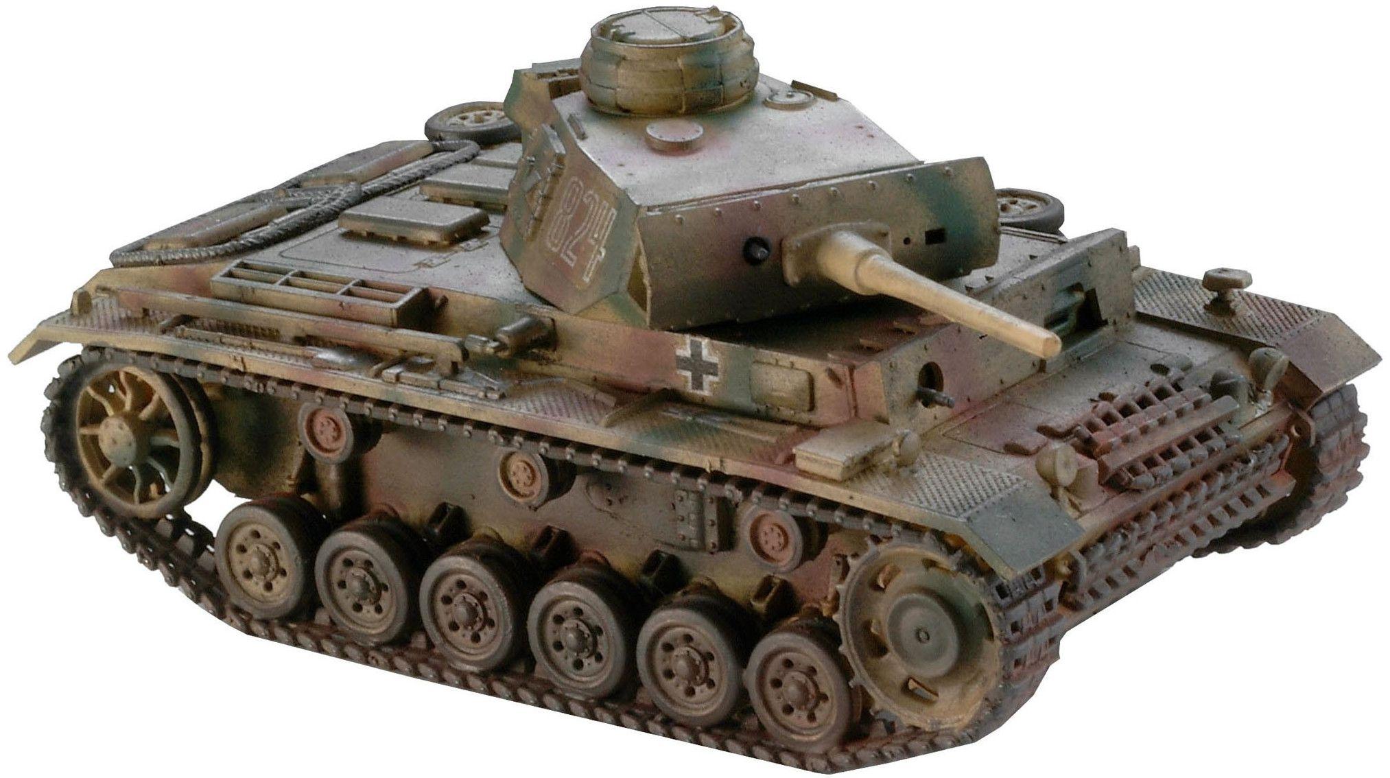 Сглобяем модел на танк Revell - Panzer III type L (03133) - 1