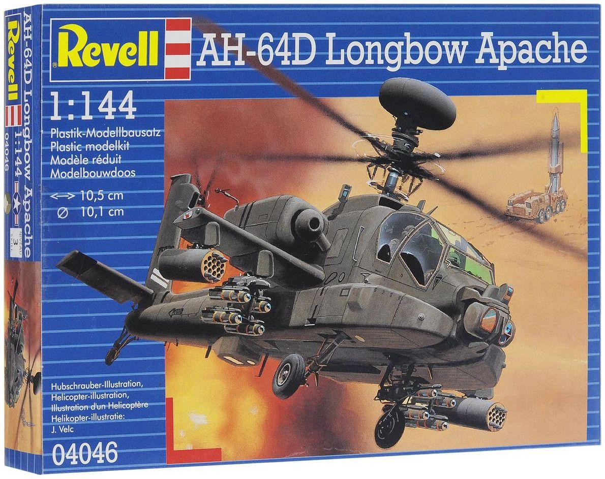 Сглобяем модел на хеликоптер Revell - AH-64D Longbow Apache (04046) - 7