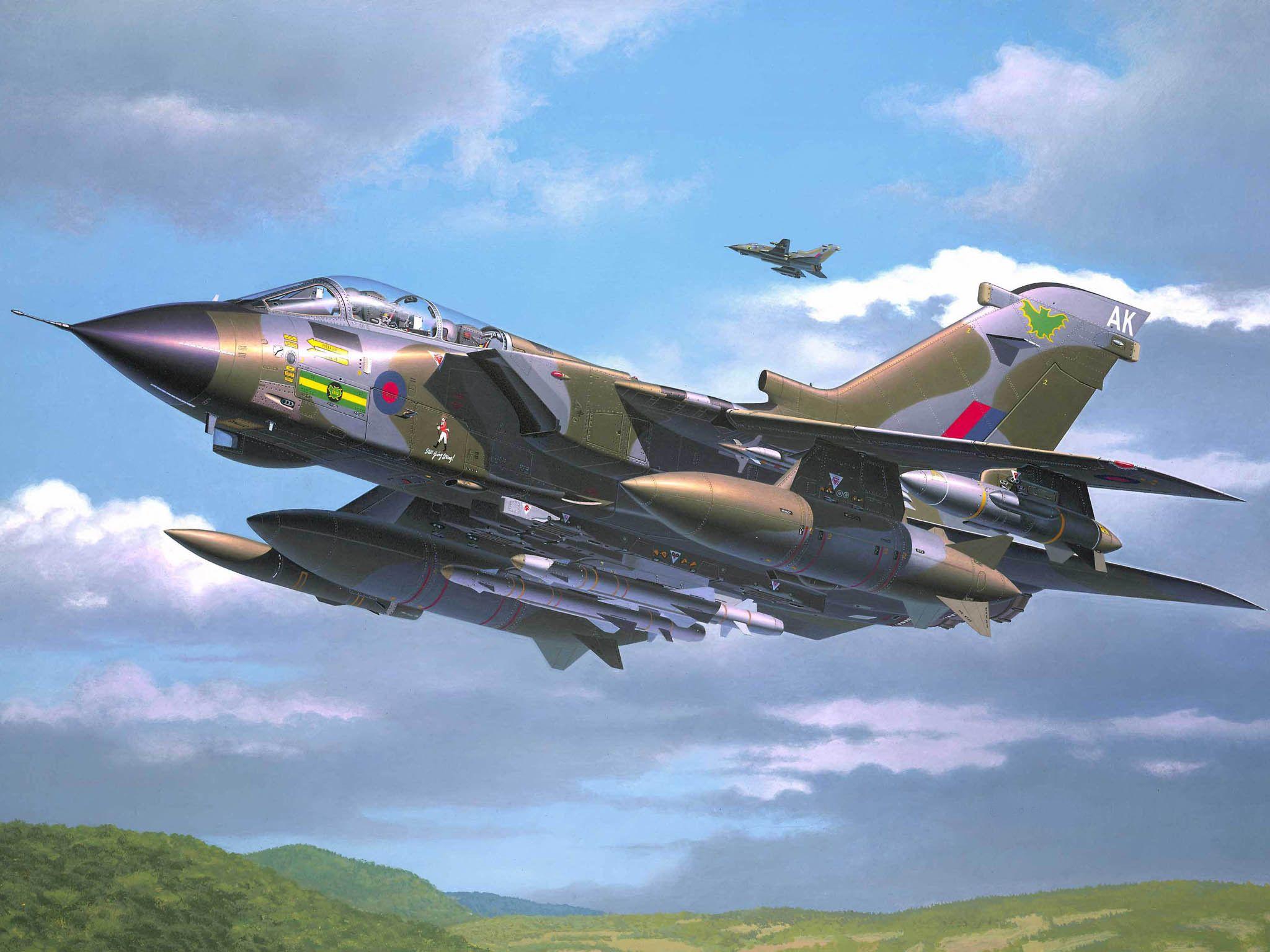 Сглобяем модел на военен самолет Revell Tornado - GR. Mk. 1 RAF (04619) - 2