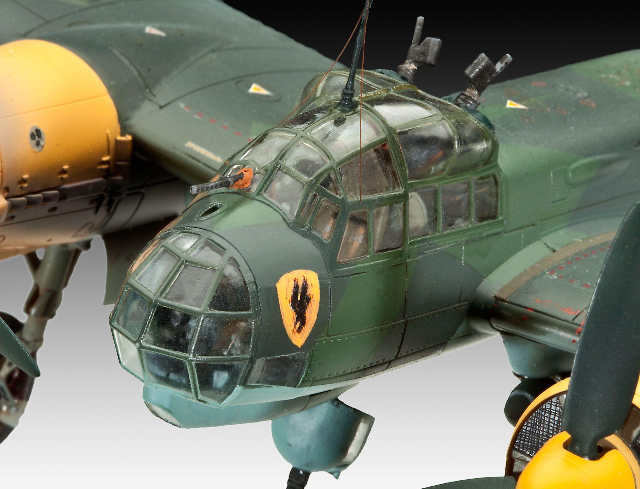 Сглобяем модел на военен самолет Revell Junkers - Ju88 A-4 Bomber (04672) - 4