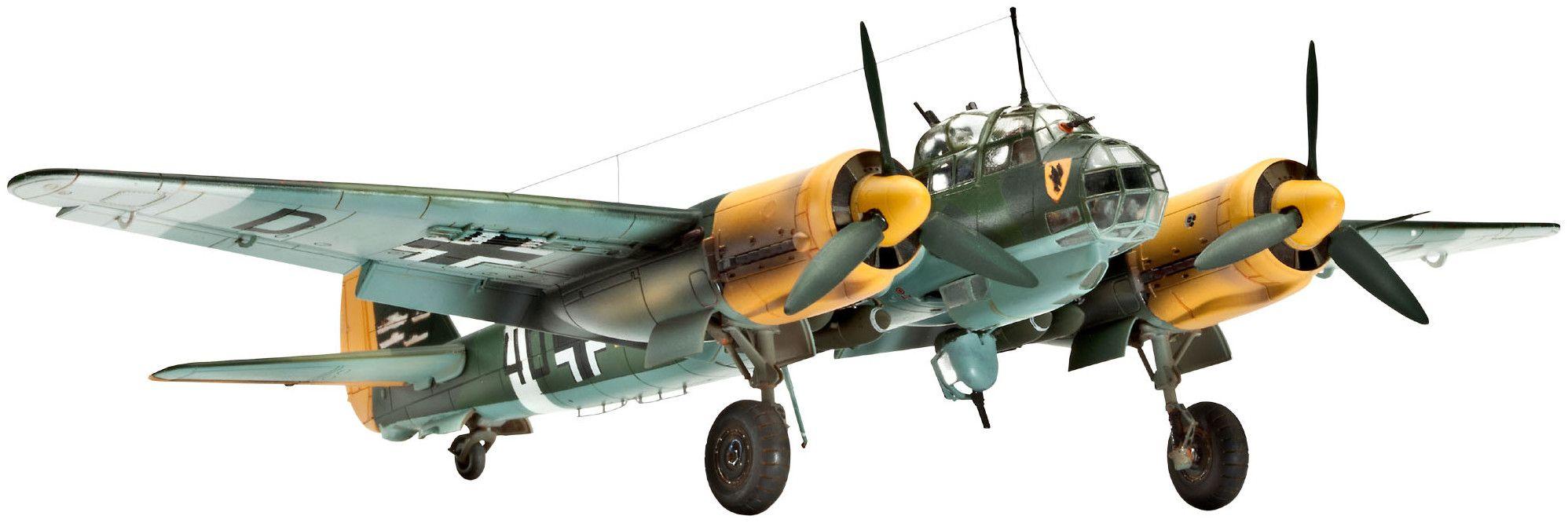 Сглобяем модел на военен самолет Revell Junkers - Ju88 A-4 Bomber (04672) - 1