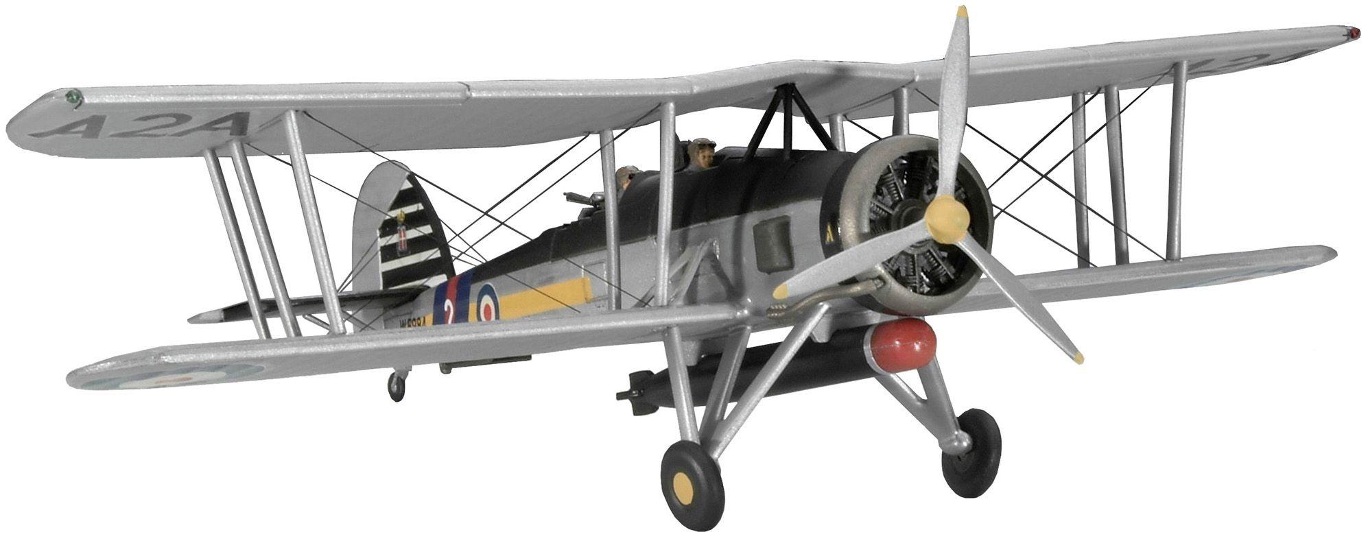 Сглобяем модел на военен самолет Revel - Fairey Swordfish Mk.I/III (04115) - 1