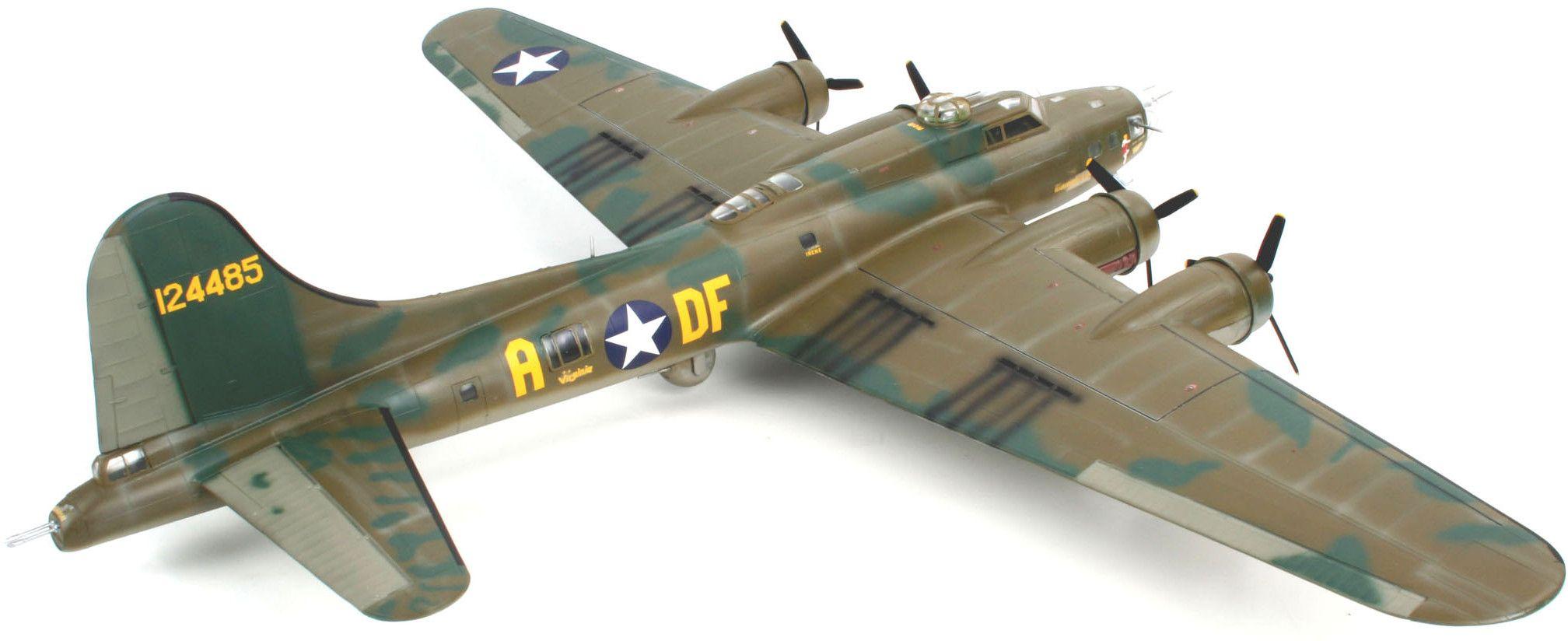 Сглобяем модел на военен самолет Revell - B-17F Memphis Belle (04297) - 3