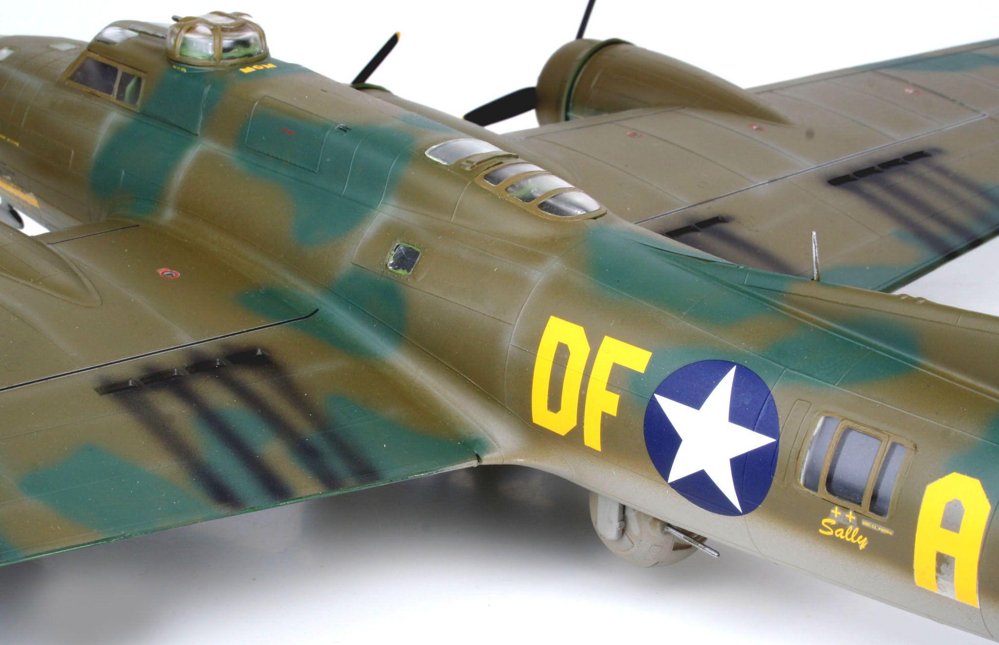 Сглобяем модел на военен самолет Revell - B-17F Memphis Belle (04297) - 5