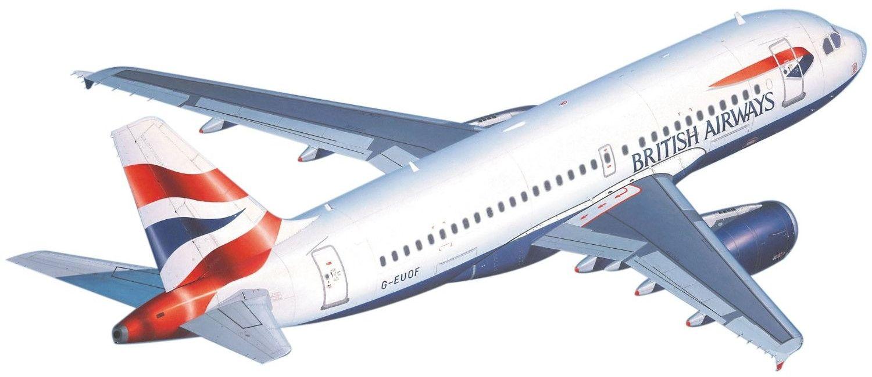Сглобяем модел на самолет Revell - Airbus A 319 (04215) - 1