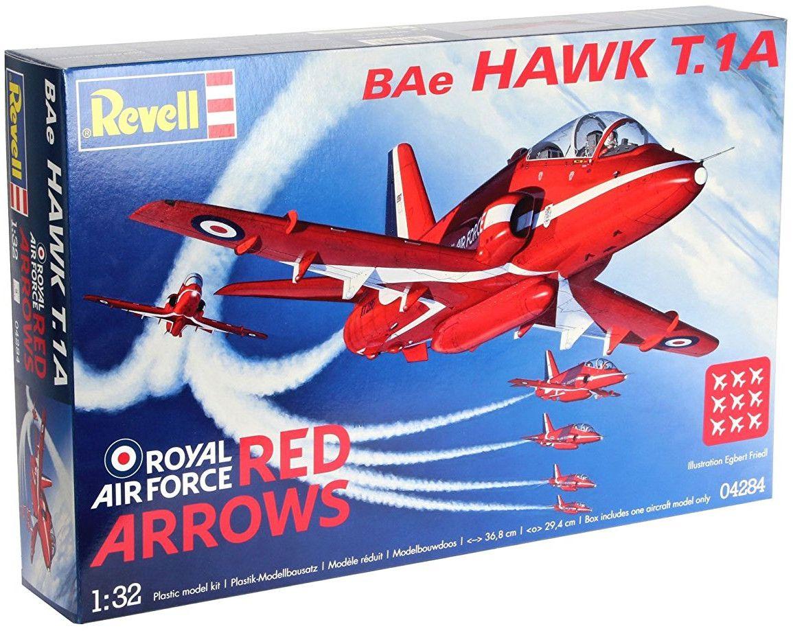Сглобяем модел на военен самолет Revell - BАЕ Hawk Red Arrows (04284) - 2