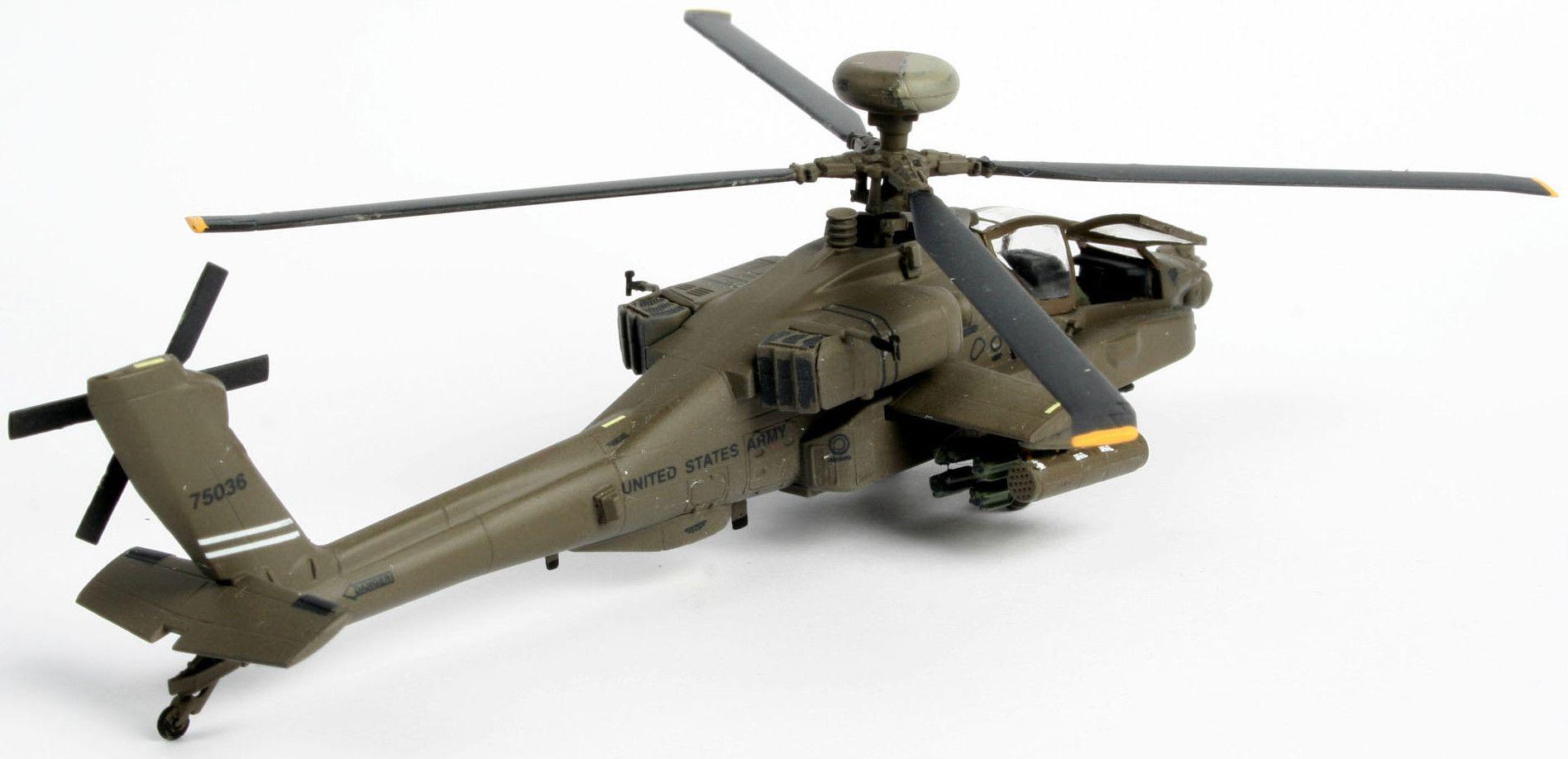 Сглобяем модел на хеликоптер Revell - AH-64D Longbow Apache (04046) - 3